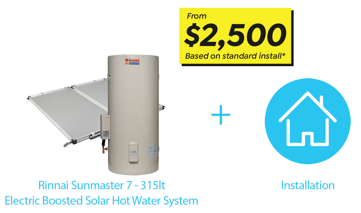Trade Services Solar Hot Water REPS
